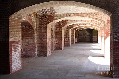 San Francisco Fort Point 5d21545 Art Print by Wingsdomain Art and Photography
