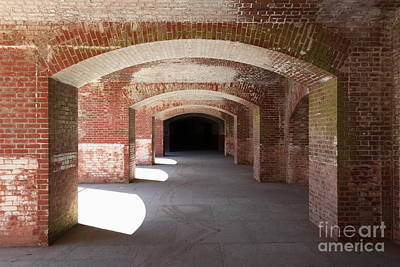 San Francisco Fort Point 5d21546 Art Print by Wingsdomain Art and Photography