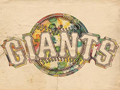 Painting - San Francisco Giants Poster Art by Florian Rodarte