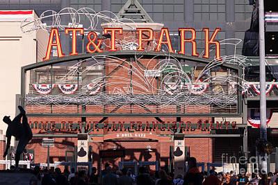 San Francisco Giants World Series Baseball At Att Park 5d29720 Print by Wingsdomain Art and Photography