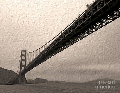 San Francisco - Golden Gate Bridge - 05 Art Print by Gregory Dyer