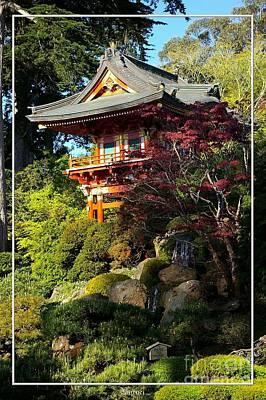 San Francisco Golden Gate Park Japanese Tea Garden 10 Print by Robert Santuci