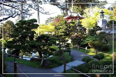San Francisco Golden Gate Park Japanese Tea Garden 6 Print by Robert Santuci