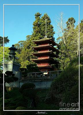 San Francisco Golden Gate Park Japanese Tea Garden 8 Art Print by Robert Santuci