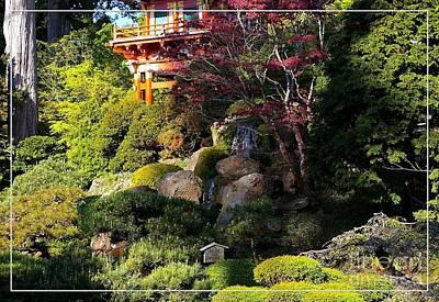 San Francisco Golden Gate Park Japanese Tea Garden 9 Art Print by Robert Santuci