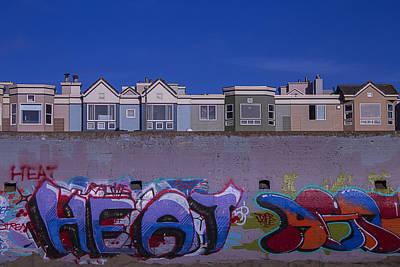 San Francisco Graffiti Art Print by Garry Gay