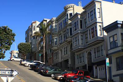 Photograph - San Francisco Hills by Aidan Moran