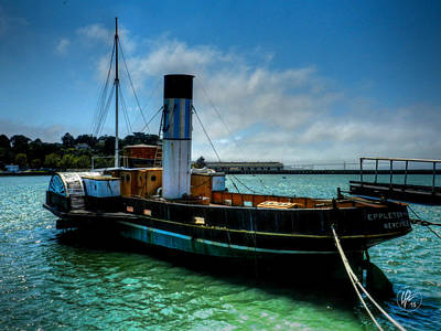 Photograph - San Francisco - Hyde Street Pier - Eppleton Hall 001 by Lance Vaughn