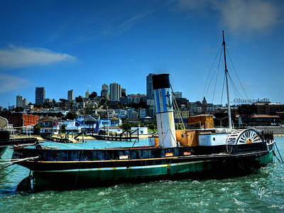 Photograph - San Francisco - Hyde Street Pier - Eppleton Hall 002 by Lance Vaughn