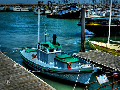 Photograph - San Francisco - Hyde Street Pier - The Wetton by Lance Vaughn