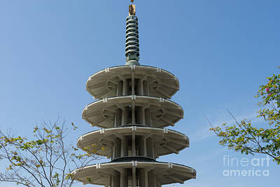 Japan Town Photograph - San Francisco Japantown Pagoda Dsc991 by Wingsdomain Art and Photography