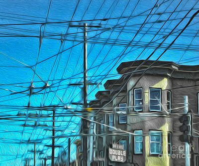 San Francisco - Mission District - 01 Art Print by Gregory Dyer