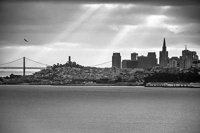 Photograph - San Francisco Morning Rays by Gregory Ballos