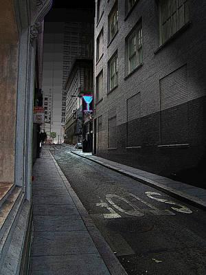 San Francisco Night Print by Ric Soulen