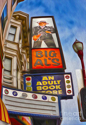 San Francisco - North Beach - 04 Art Print by Gregory Dyer