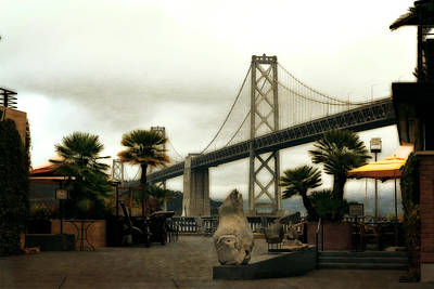 Photograph - San Francisco Oakland Bay Bridge by Michelle Calkins