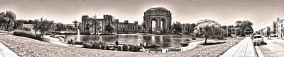 San Francisco - Palace Of Fine Arts - 03 Art Print by Gregory Dyer
