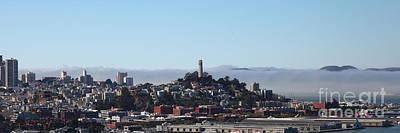Photograph - San Francisco Panorama 5d25373 by Wingsdomain Art and Photography