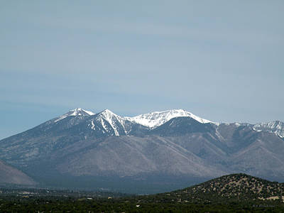Photograph - San Francisco Peaks Flagstaff Arizona by Becky Erickson