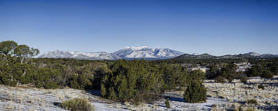 San Francisco Peaks Art Print by Heather Applegate