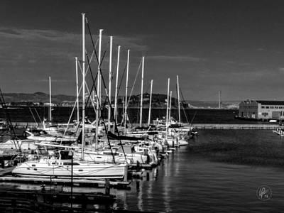 Photograph - San Francisco - Pier 39 Marina 001 by Lance Vaughn