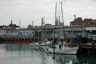San Francisco Pier Art Print