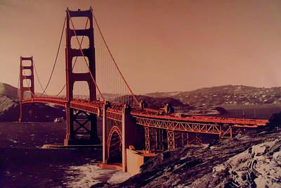 Mixed Media - San Francisco Pop by Michelle Dallocchio