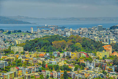 Photograph - San Francisco - Scenic Cityscape by Ben and Raisa Gertsberg
