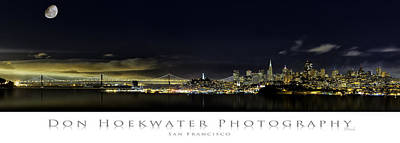 Photograph - San Francisco Skyline And Bay Bridge by PhotoWorks By Don Hoekwater