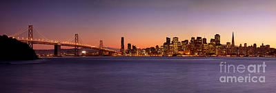 San Francisco Skyline Original by Brian Jannsen