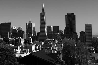 Photograph - San Francisco Skyline California by Aidan Moran