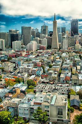 Photograph - San Francisco Skyline by Celso Diniz