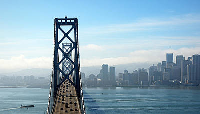 Photograph - San Francisco Skyline From The Bay Bridge by AJ  Schibig
