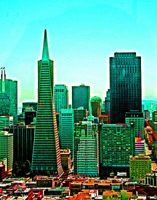 Photograph - San Francisco Skyline by Joseph Coulombe