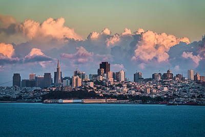Photograph - San Francisco Skyline by Mike Lee