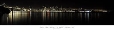 Photograph - San Francisco Skyline Panorama by PhotoWorks By Don Hoekwater