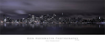Photograph - San Francisco Skyline by PhotoWorks By Don Hoekwater