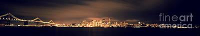 San Francisco Skyline Art Print by Ron Smith