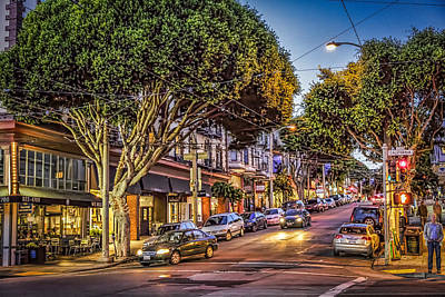 Photograph - Hdr Effect - San Francisco Street by Susan Leonard