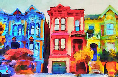San Francisco Streets 1 Art Print