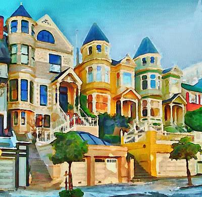 San Francisco Streets 2 Art Print by Yury Malkov