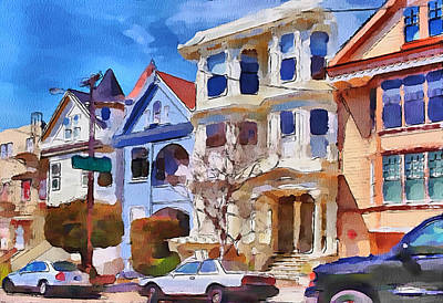 San Francisco Streets 3 Art Print