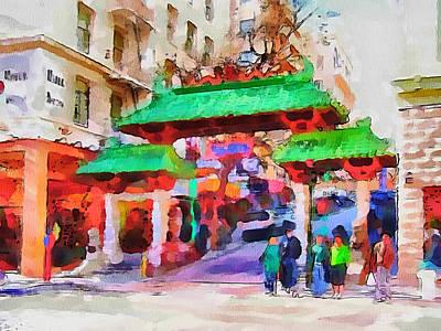 San Francisco Streets 5 Art Print by Yury Malkov