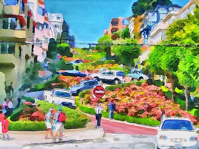 San Francisco Streets 6 Art Print by Yury Malkov