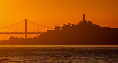 Photograph - San Francisco Sunrise by Alexis Birkill