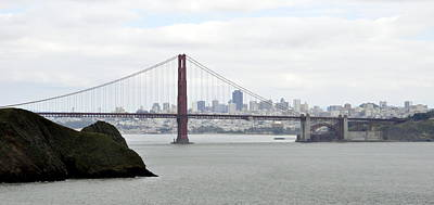 Photograph - San Francisco Through The Golden Gate by AJ  Schibig