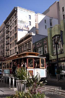 Photograph - San Francisco Tram by Brenda Kean
