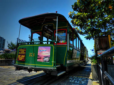Photograph - San Francisco Trolley 001 by Lance Vaughn
