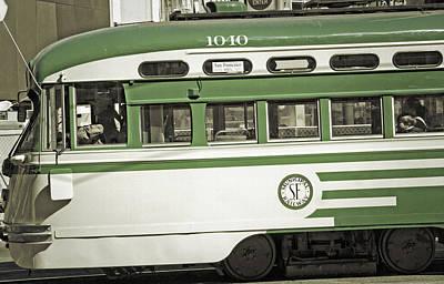 San Francisco Trolley Art Print by Steve Ohlsen