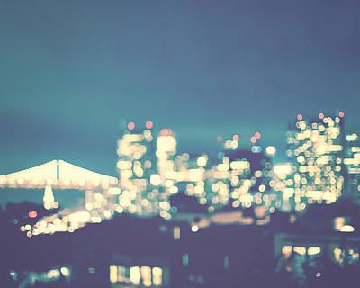 Photograph - San Francisco Twinkle by Melanie Alexandra Price